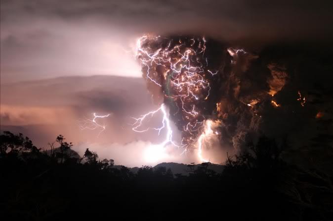 thunder volcano